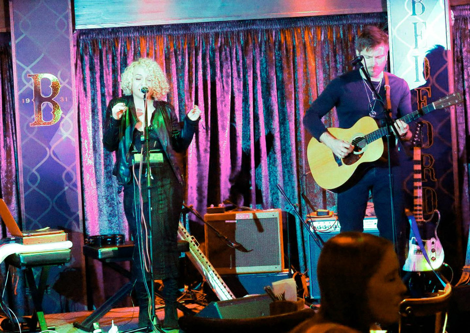 Our gig at The Bedford