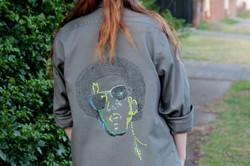 Lenny shirt worn by Jess  back 5