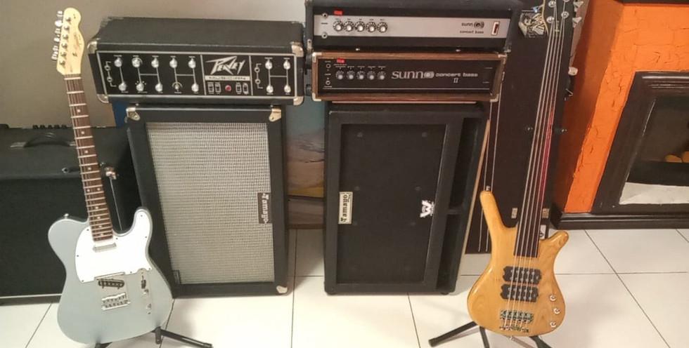 2x12 Guitarra y 2x12 Bajo