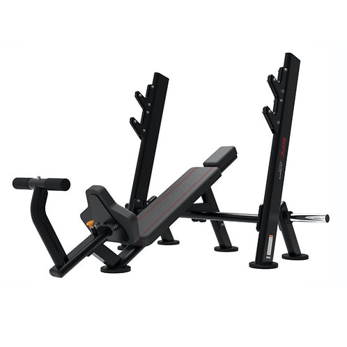 OLYMPIC INCLINE BENCH WITH STORAGE