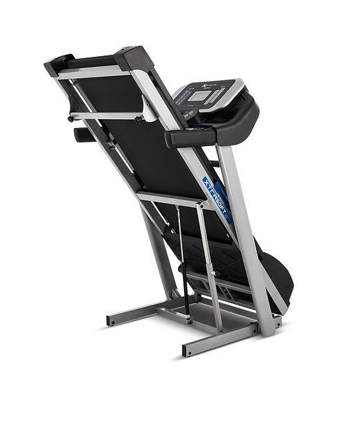 Folded xterra fitness treadmill