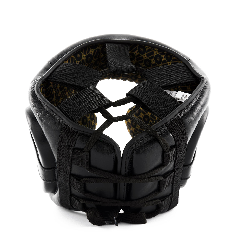PREMIUM BLACK LACE-UP HEAD GEARbk-1.jpg