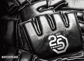 #UFC25YEARS