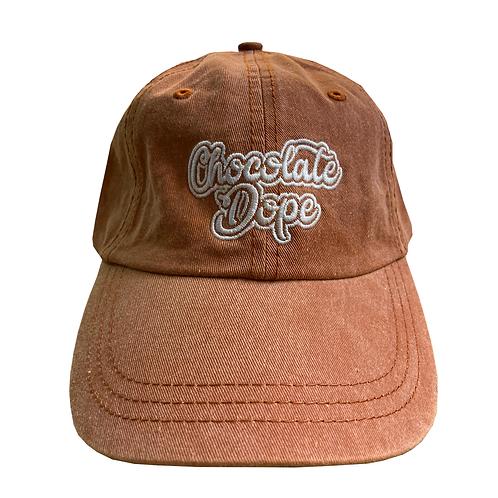 Brown dad hat
