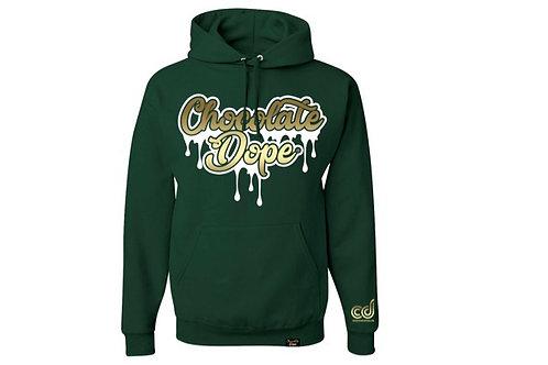 Green Hornet Drip Hoodie