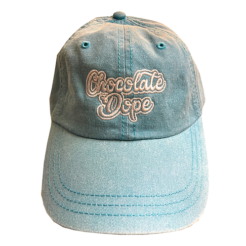 Teal dad hat