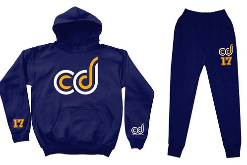 CD Navy Sweatsuit