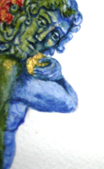 image painted from illuminated MSS