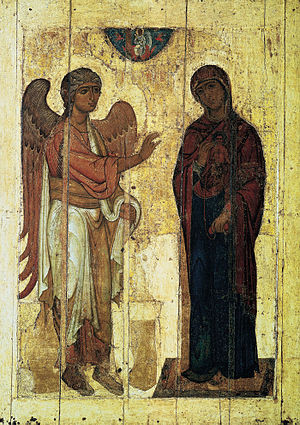 Gabriel visitng Mary