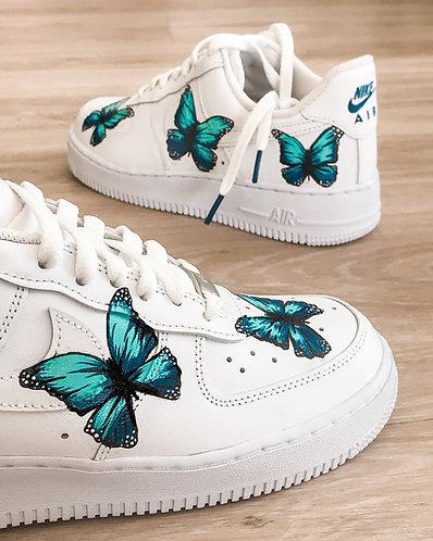 Nike AF1 Butterflies