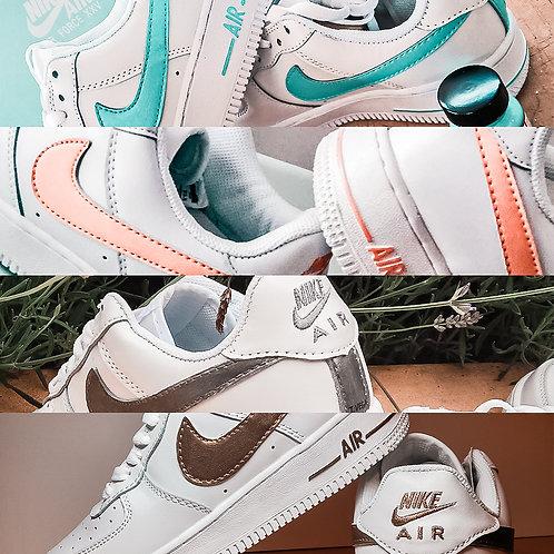 Nike AF1 Color Swoosh