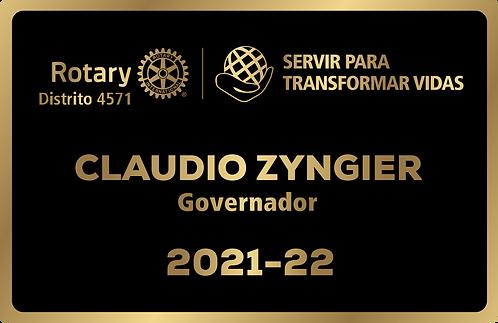 Crachá de Bolso ou Lapela - 2021/22