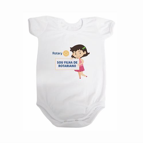 Body para Bebê - Sou Filha de Rotariano