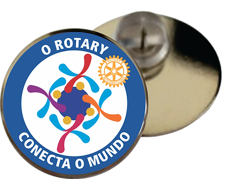 Pin Lema Rotário 2019-20 - Resinado