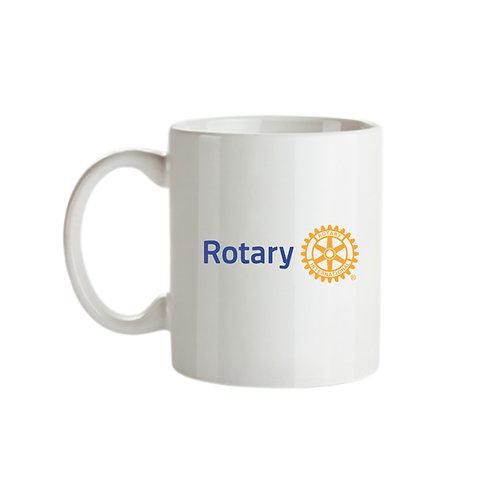 Caneca Branca do Rotary