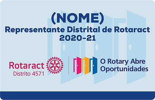 Crachá de Bolso ou Lapela 2020-21(Rotaract)