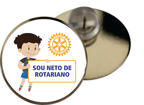 Pin Sou Neto de Rotariano