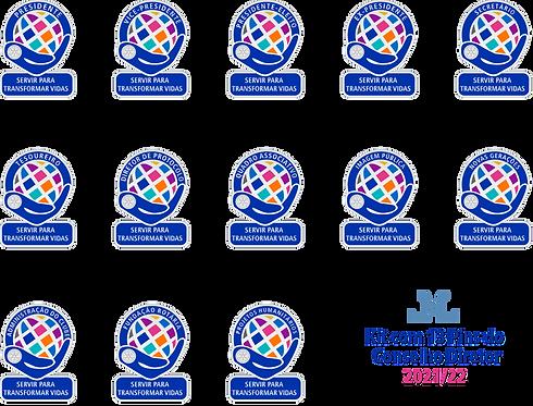 Pins Kit Conselho Diretor 2021-22 | Esmaltados