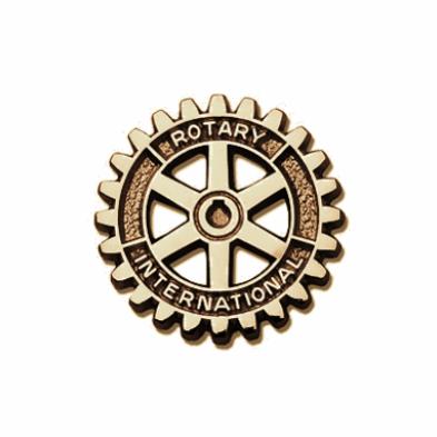Distintivo Roda Rotária Dourada