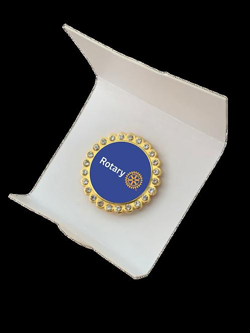 Pin Rotary c/ STRASS 1