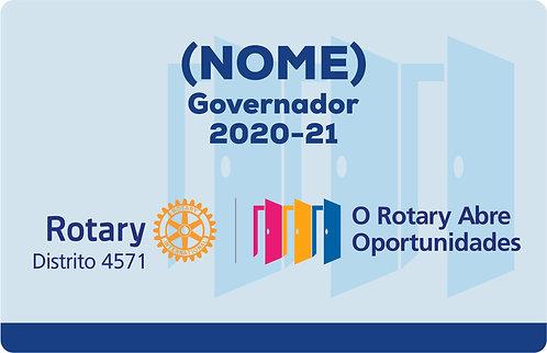 Crachá de Bolso ou Lapela 2020-21 (Rotary)