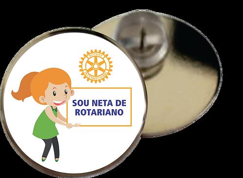 Pin Sou Neta de Rotariano