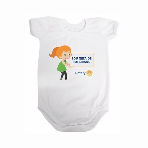 Body para Bebê - Sou Neta de Rotariano