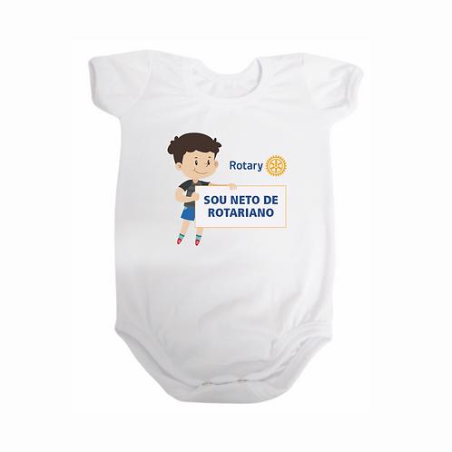 Body para Bebê - Sou Neto de Rotariano