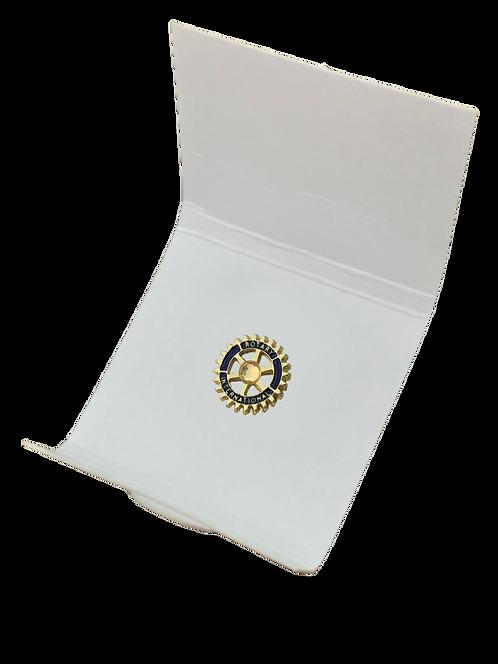Distintivo Rotary - Marca de Excelência (Legacy) c/ Pedra