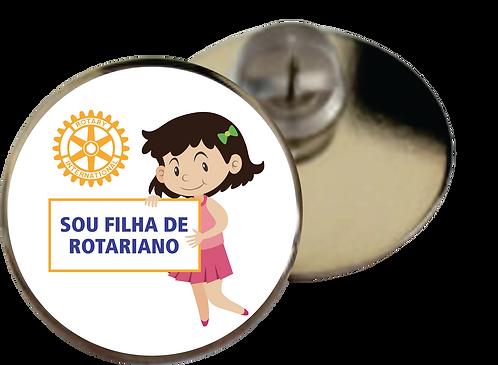 Pin Sou Filha de Rotariano