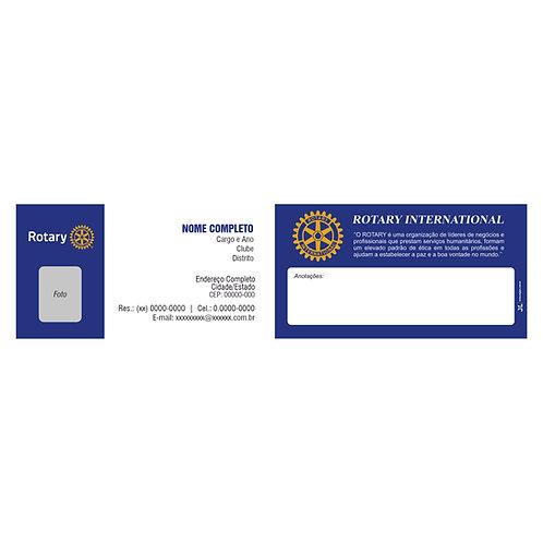 Cartão de Visita Rotary - 500 unidades