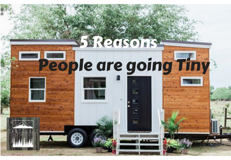 5 Reasons People are going Tiny