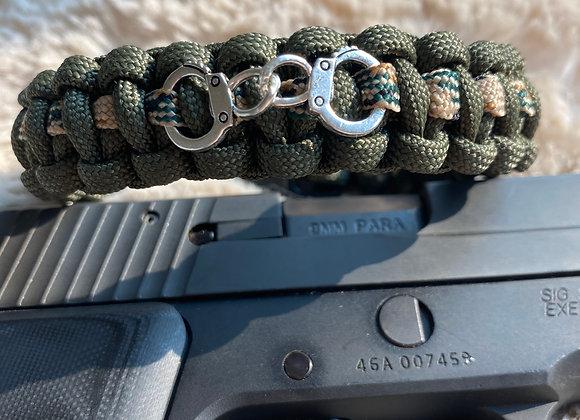 Handcuff Paracord Bracelet