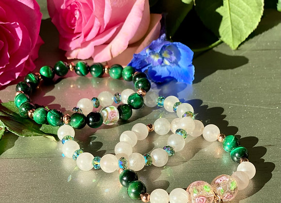 Rose Garden Bracelet Trilogy Set