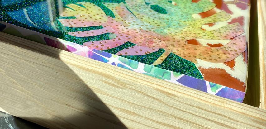 Custom Handmade Paper Border