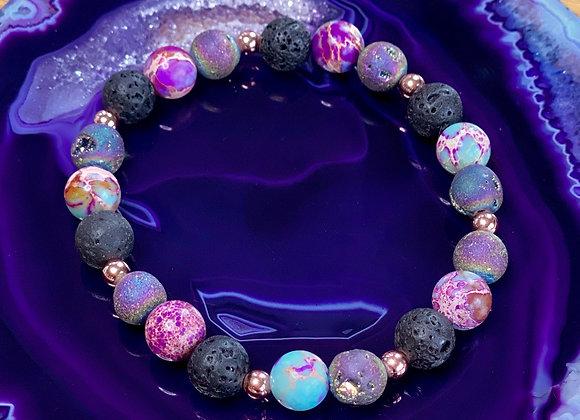 Jewel Tone healing bracelet
