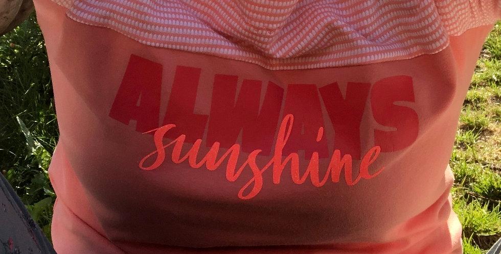 "Textil-Plot ""ALWAYS sunshine"""