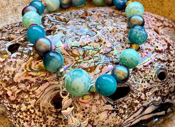 Mermaid Semi-Precious Gemstone Bracelet