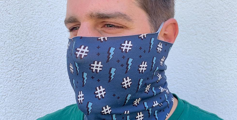 Behelfsmaske als Sommerloop