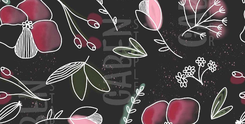 Jersey - Red Flower