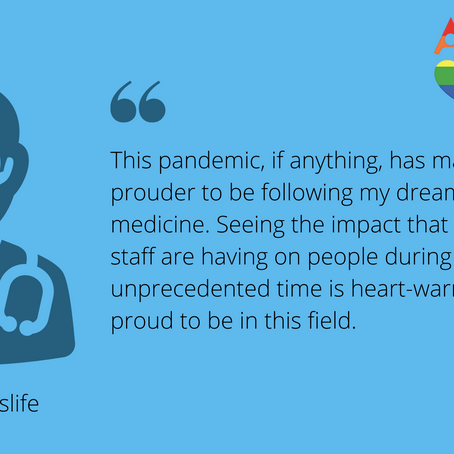 An Interview with a Medical Student: @itsamedicslife