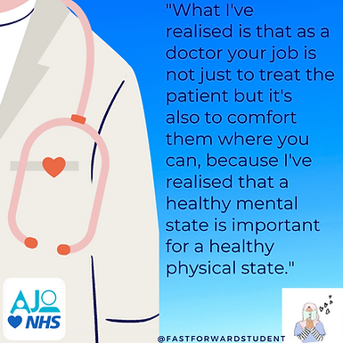 An Interview with a Medical Student: @fastforwardstudent