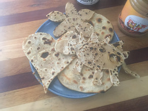 Go Nuts - How to make Peanut Butter Chapatis: