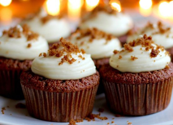 Jamaican Ginger Cupcake