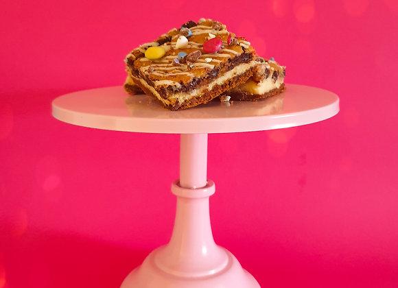 Cheesecake cookie Slice