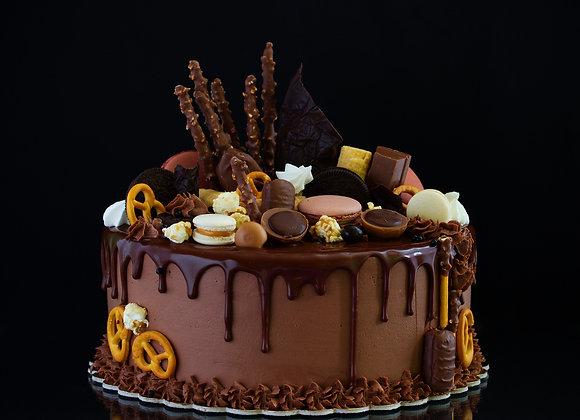 Triple Chocolate Drip Cake