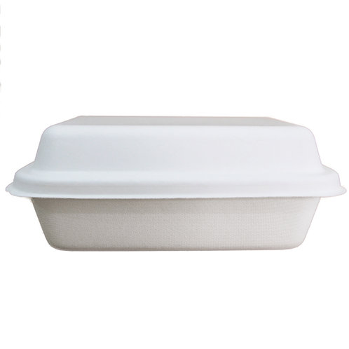 Sugarcane Lids - for 800mL rectangular bowls