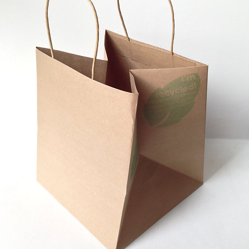 Paper Bags (Square Base)