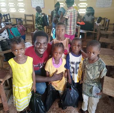 Emmanuel and kids