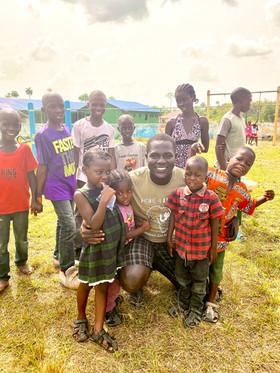 Emmanual Loving On the Kids